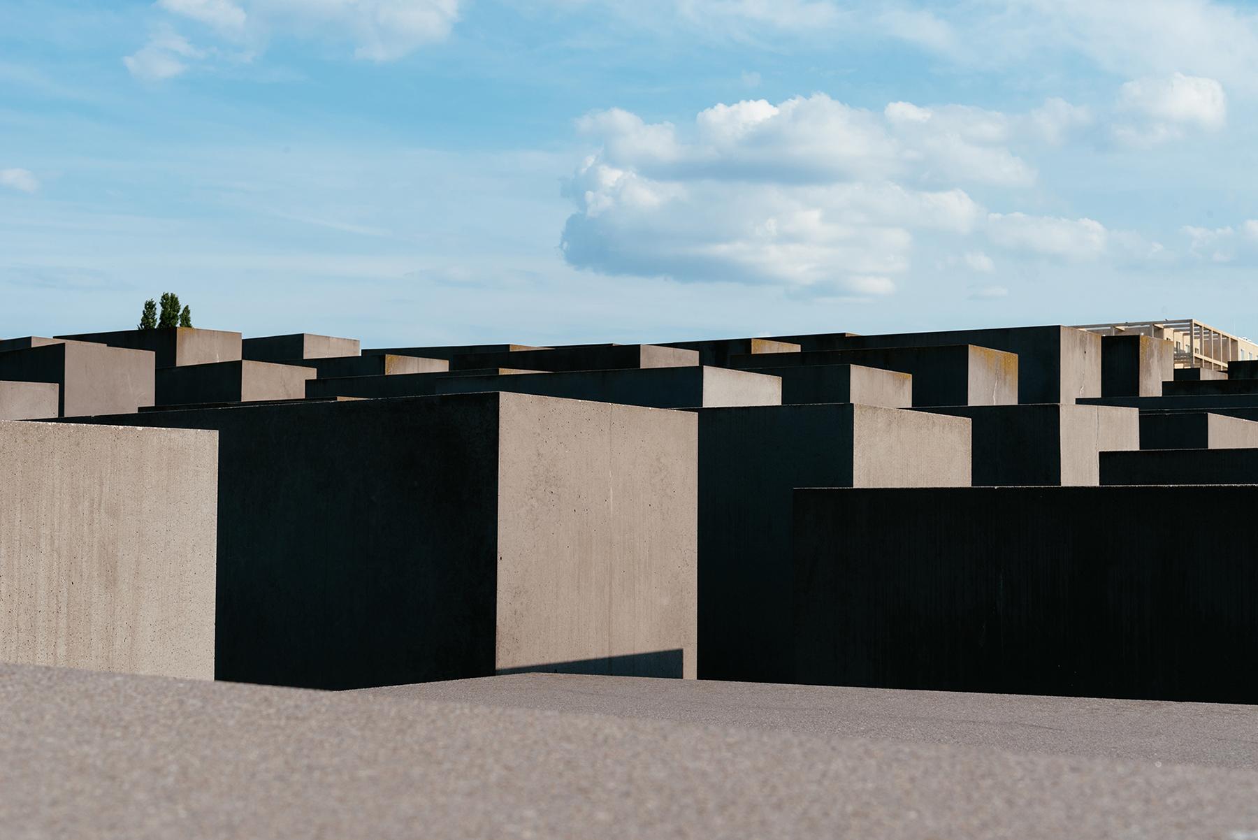 Minnesmärket Holocaust Memorial i Berlin