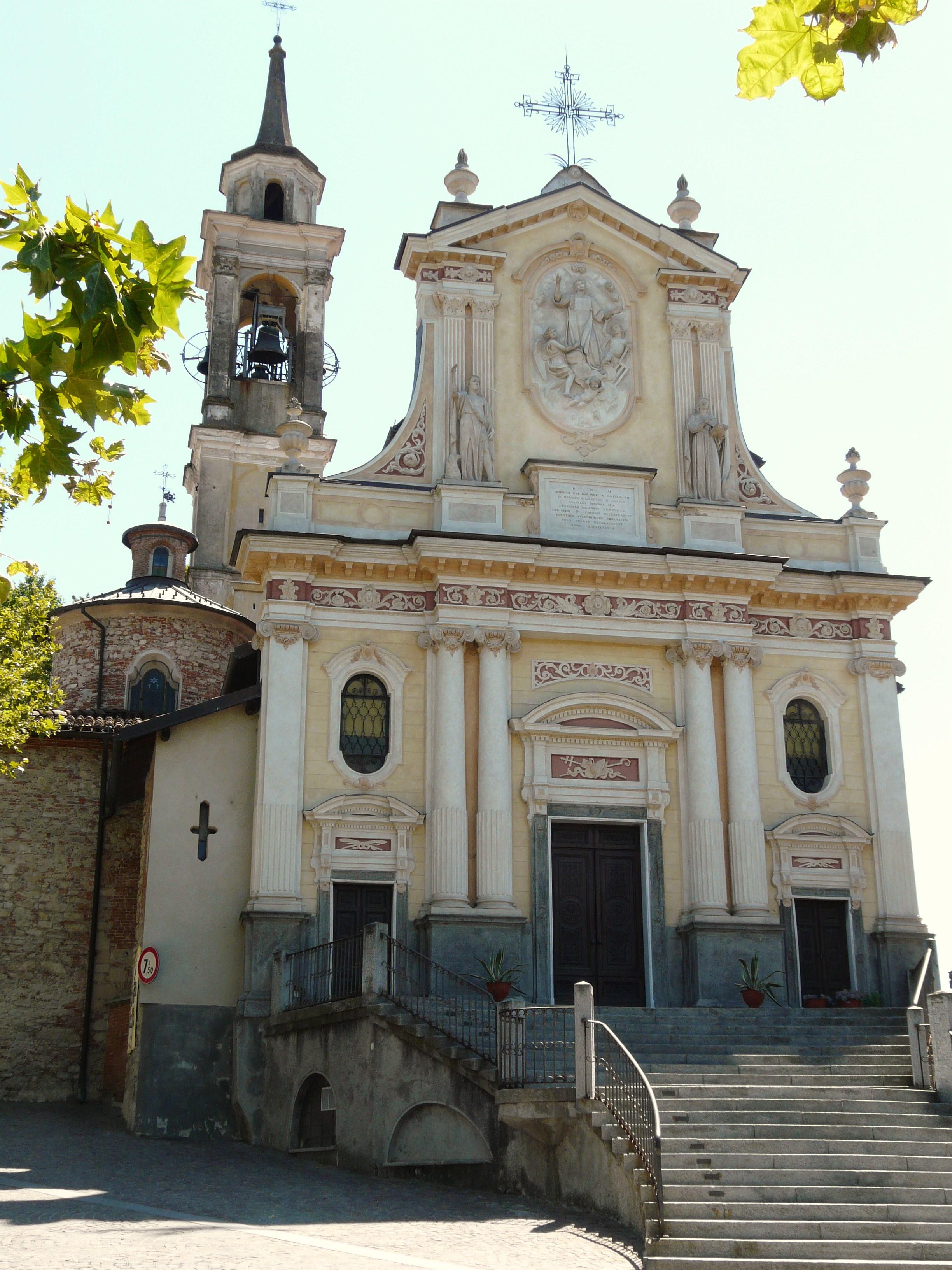 Castelletto d'Orba Italien