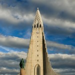Hallgrimskyrkan på Island