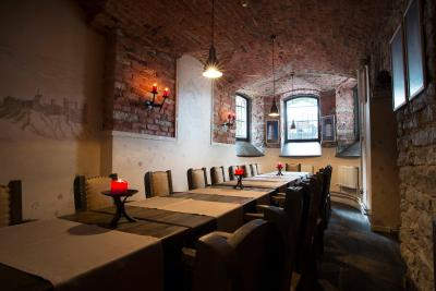 Hotel St. Barbara Tallinn restaurang