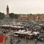 Jemaa El Fna, Marocko
