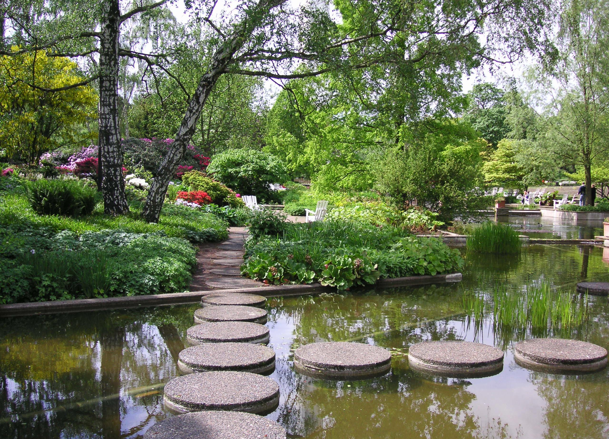 Parken Planten un Blomen Hamburg