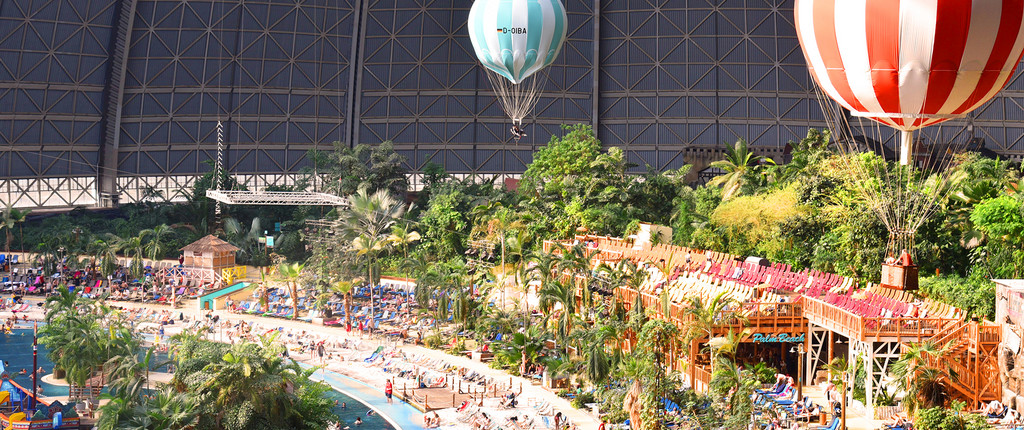 Tropical Island resort Berlin