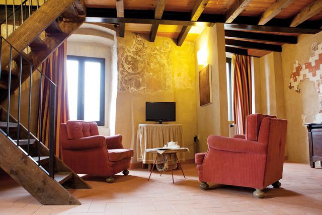 Vardagsrum Castello Odolfredo